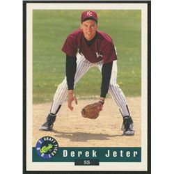 1992 Classic Draft Picks #6 Derek Jeter