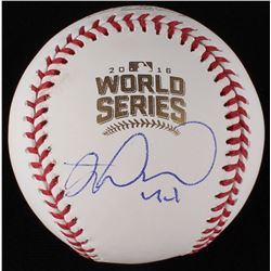 Miguel Montero Signed World Series Baseball (JSA COA)