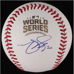 Matt Szczur Signed World Series Baseball (JSA COA)