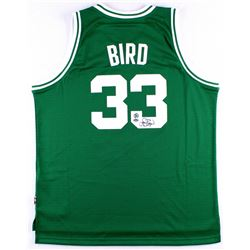 Larry Bird Signed Celtics Jersey (Bird Hologram  Schwartz COA)