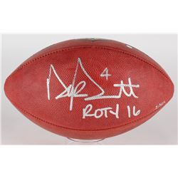 "Dak Prescott Signed LE ""The Duke"" Official NFL Game Ball Inscribed ""ROTY 16"" (Steiner COA)"