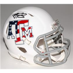 Johnny Manziel Signed Texas AM Aggies Mini Speed Helmet (Panini COA)