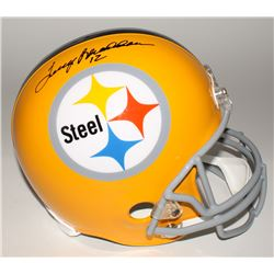 Terry Bradshaw Signed Steelers Throwback Full-Size Helmet (Bradshaw Hologram)