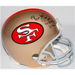 "Ronnie Lott Signed 49ers Full-Size Helmet Inscribed ""HOF 00"", ""4X SB Champ"",  ""Hitman"" (Beckett COA)"