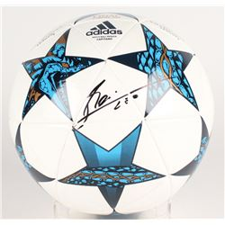 "Lionel ""Leo"" Messi Signed 2017 UEFA Champions Adidas Soccer Ball (Messi COA)"