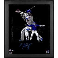 "Kris Bryant Signed Cubs 23.5"" x 27.5"" Custom Framed Photo (MLB  Fanatics)"