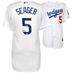 Corey Seager Signed Dodgers Authentic Majestic Jersey (Fanatics  MLB)