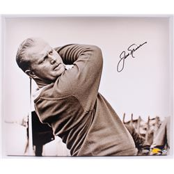 "Jack Nicklaus Signed ""Up Close  Personal"" 20"" x 24"" Giclee on Stretched Canvas (UDA COA)"