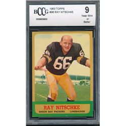 1963 Topps #96 Ray Nitschke RC (BCCG 9)