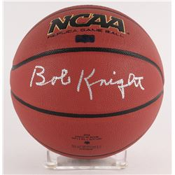 Bobby Knight Signed Wilson NCAA Basketball (Radtke COA)