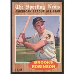 1962 Topps #468 Brooks Robinson AS