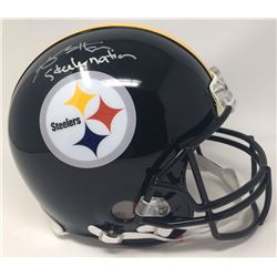 "Antonio Brown Signed Steelers LE Full-Size Authentic Proline Helmet Inscribed ""Steeler Nation"" (Stei"