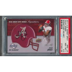 2011 Sweet Spot Rookie Signatures #RSJO Julio Jones (PSA 8.5)