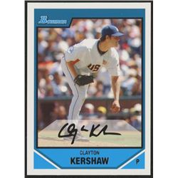 2007 Bowman Draft Future's Game Prospects #BDPP77 Clayton Kershaw