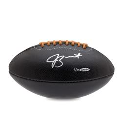 Jameis Winston Signed LE Black Leather Football (UDA COA)