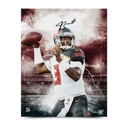 "Jameis Winston Signed Buccaneers ""Stadium Series"" 16x20 Photo (UDA COA)"