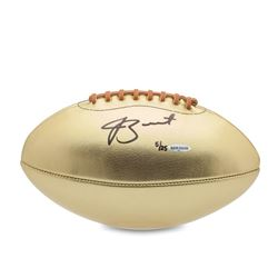 Jameis Winston Signed LE Gold Leather Football (UDA COA)