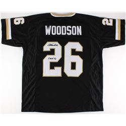 "Rod Woodson Signed Purdue Boilermakers Jersey Inscribed ""CHOF 16"" (JSA COA)"