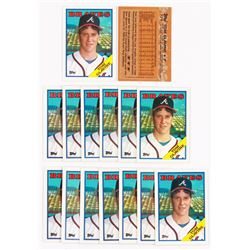 Lot of (15) 1988 Topps #779 Tom Glavine RC