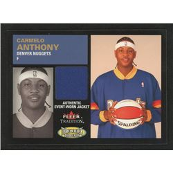 2003-04 Fleer Tradition Throwback Threads Event Worn #CA Carmelo Anthony