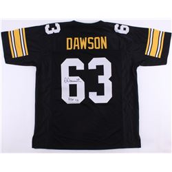 "Dermontti Dawson Signed Steelers Jersey Inscribed ""HOF 12"" (JSA COA)"