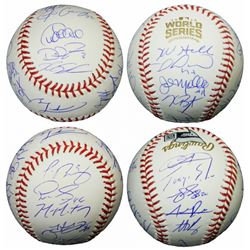 2016 Chicago Cubs World Series Champion Team-Signed 2016 World Series Baseball with (23) Signatures
