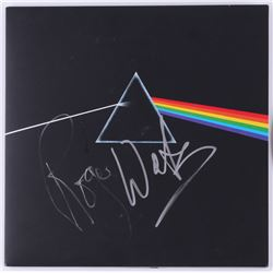 "Roger Waters ""Pink Floyd"" Signed ""The Dark Side of the Moon"" Record Album Cover (JSA ALOA)"