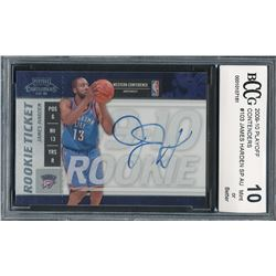 2009-10 Playoff Contenders #103 James Harden SP Autograph RC (BCCG 10)