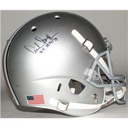 "Archie Griffin Signed Ohio State Buckeyes Full-Size Helmet Inscribed ""H.T. 1974/75"" (Radtke Hologram"