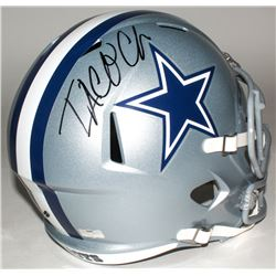 Taco Charlton Signed Cowboys Full-Size Speed Helmet (Radtke COA)