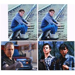 """Lot of (4) C. Thomas Signed 8x10 Movie Photos with (3) """"The Outsiders""""  (1) """"Southland"""" (Schwartz CO"""