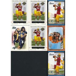 Lot of (7) Aaron Rodgers Rookie Cards