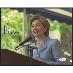Hillary Clinton Signed 8x10 Photo (JSA COA)
