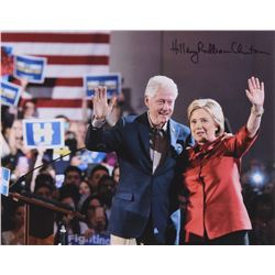 Hillary Clinton Signed 11x14 Photo with Full Name Signature (JSA LOA)