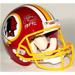 "John Riggins Signed Redskins Full-Size Authentic On-Field Helmet Inscribed ""HOF 92"" (Steiner COA)"