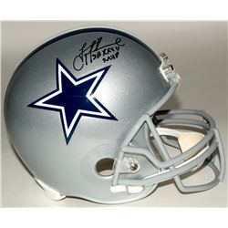 "Troy Aikman Signed Cowboys Full-Size Helmet Inscribed ""SB XXVII MVP"" (Aikman Hologram)"