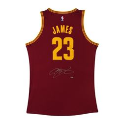 LeBron James Signed Cavaliers Jersey (UDA)