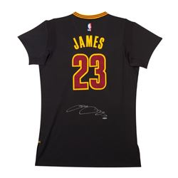 LeBron James Signed Cavaliers Pride Jersey (UDA)