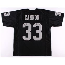 "Billy Cannon Signed Raiders Jersey Inscribed ""1967 A.F.L. Champs"" (Radtke COA)"