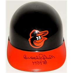 "Brooks Robinson Signed Orioles Full-Size Batting Helmet Inscribed ""HOF 83"" (JSA COA)"