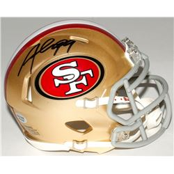 Aldon Smith Signed 49ers Speed Mini-Helmet (Radtke COA)