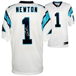 Cam Newton Signed Panthers Jersey (Fanatics)