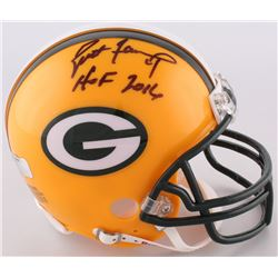 "Brett Favre Signed Packers Mini-Helmet Inscribed ""HOF 2016"" (Radtke COA)"
