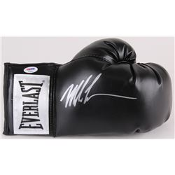 Mike Tyson Signed Everlast Boxing Glove (PSA COA)