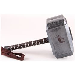 Stan Lee Signed Thor Hammer Movie Prop Replica (Lee Hologram)
