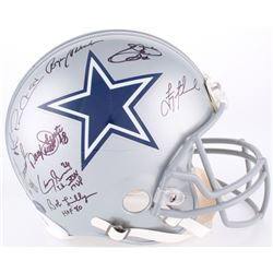 Dallas Cowboys Greats Signed Full-Size Authentic On-Field Helmet with (20) Signatures Including Roge