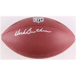 Dick Butkus Signed Wilson Football (Schwartz COA)