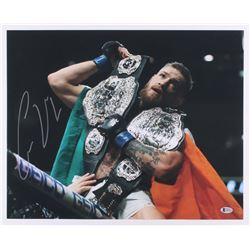 Conor McGregor Signed UFC 16x20 Photo (Beckett COA)