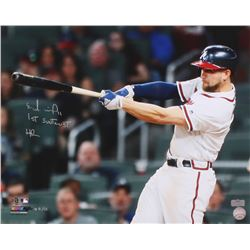 "Ender Inciarte Signed LE Braves 16x20 Photo Inscribed ""1st Suntrust HR"" (Radtke COA)"