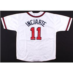 Ender Inciarte Signed Braves LE Jersey With Extended Inscription (Radtke COA)